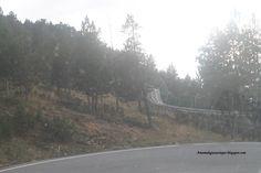 El Tobotronc cruza la carretera