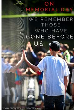 We remember those who have gone before us.