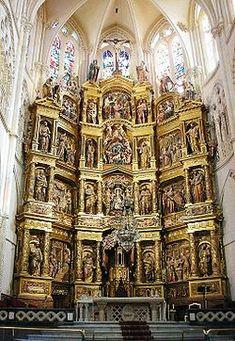 Retablo Mayor Burgoscat - Retablo mayor de la Catedral de Burgos - Wikipedia, la enciclopedia libre