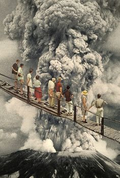the eruption... Art Print by Hugo Barros | Society6