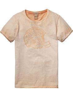 Special Wash T-Shirt |T-shirt s/s|Boys Clothing at Scotch & Soda
