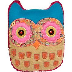 Paper Source owl pillow...love this store!