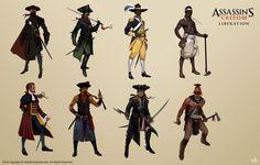 'Assassin's Creed 3: Liberation' Concepts part 1 by Mitkov.deviantart.com on @deviantART