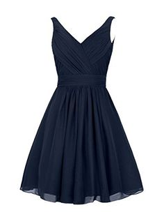 DresSeagle V-neck Pleated A-line Bridesmaid Dresses Cocktail Gowns, http://www.amazon.com/dp/B0183NQJ5A/ref=cm_sw_r_pi_awdm_XPWLwbHAF7D7Y