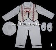 Costum popular pentru bebelusi baieti IONUT