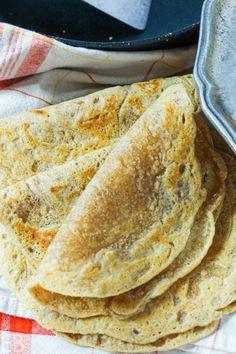 Tiger Nut Flour Tortillas (Paleo, AIP, egg-free, nut-free, no rolling out!) Tigernut Flour, How To Make Tortillas, Bread Alternatives, Tortilla Recipe, Flour Tortillas, Paleo Tortillas, Vegan Baking, Egg Free