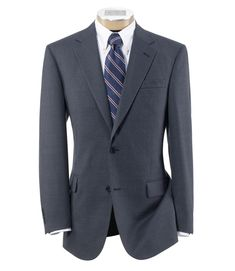 Signature 2-Button Wool Patterned Sportcoat CLEARANCE