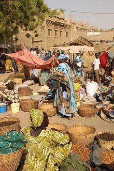 Monday Market - Mali, Africa