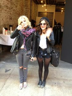 Ashley Benson & Lucy Hale Style