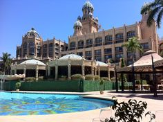 The Palace - Sun City - South Africa  Nice hotel and pool