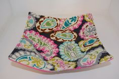 Microwave Cozy // Dinner Plate Cozy // Reversible // Paisley