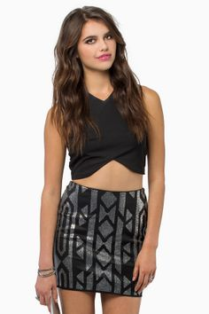 Bianca Mini Skirt