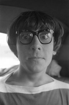 Keith Moon looking super cute with nerd glasses! This is one of my favorite photos of him! ♡