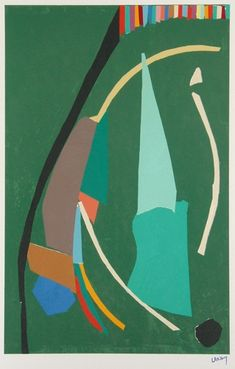 André Lanskoy (1902/1976) à la Galerie Roussard, Montmartre