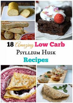 Low Carb Keto Psyllium Baked Goods Recipe Round Up 18 Of My Favorite Psyllium Husk Recipes All In One Post. Keto Baking Made Easy Keto Friendly Desserts, Low Carb Desserts, Low Carb Recipes, Ketogenic Recipes, Paleo Recipes, Free Recipes, Low Carb Bread, Low Carb Keto, Keto Bread
