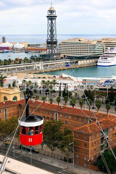 Barcelona, Port Cable Car #barcelona #spain #photography