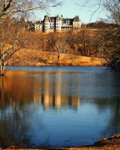 This is another photo of lake where I learned to love fishing.  Biltmore Estate, Asheville NC