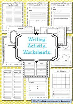 dear mr henshaw worksheets