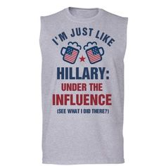 3c983bca7 Just Like Hillary | This Fourth of July get a little political with this  Anti-