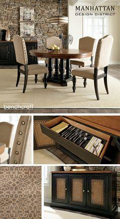 Shardinelle Dining Room Table - Benchcraft - Manhattan Design District™ - Ashley Furniture