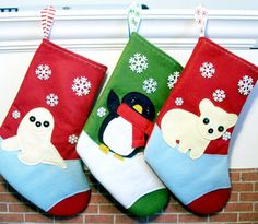 Quilted Coll Holiday Stocking Bear Plaid  NWT