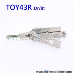 LISHI TOY43R Dr/Bt 2 in 1 Auto Pick and Decoder For Toyota