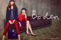 Boden Autumn Advertising Campaign
