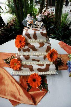 Mi queque de bodas..