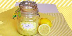 Receta para hacer un exfoliante casero de limón para eliminar las células muertas y revelar piel más sana, más lisa y con un tono uniforme.