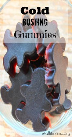 Cold & Flu Busting Gummies! So easy to make - realfitmama.org