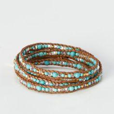 Terrain Desert Stone Wrap Bracelet #shopterrain
