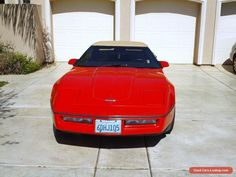 1988 Chevrolet Corvette 2 Door Convertible #chevrolet #corvette #forsale #unitedstates
