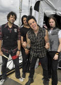 Papa Roach- 2011 (twice), 2012, 2013 (twice): always a great performance