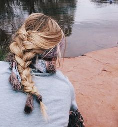 Loose braid & headband ✩