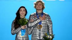 Meryl Davis and Charlie White ~~ Gold Medal Winners in the 2014 Olympics!