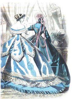 October 1865 Peterson's Magazine