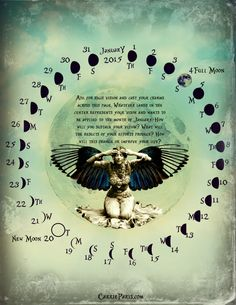 JAN 2015 Casting Calendar Magpie Oracle