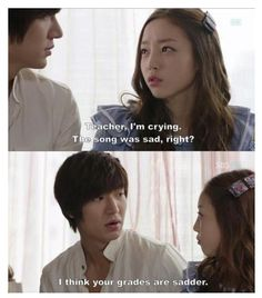 Actual quotes from City Hunter. xD I