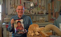 Clyde fogle, 73, has made more than 100,000 toys and donated them to fill Operation Christmas Child shoeboxes. His toys have been delivered in shoeboxes in 70 countries.