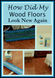 How to get your wood floors to look new again.