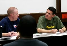 SJSU's Veterans ease back into student life with Warriors at Home course (photo courtesy of Spartan Daily) #SJSU