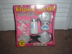 Corningware Kitchen Ware Set for Maddie Mod and Other Fashion Dolls, 1970