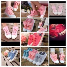 Because I love converse shoes!this ones with bows are to cute!