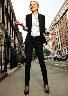 25 Stylish Work Outfit Ideas. (High Fashion UK)