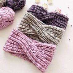 Knit Crochet, Crochet Hats, Ear Warmers, Yarn Crafts, Crochet Projects, Headbands, Knitted Hats, Knitting Patterns, Diy