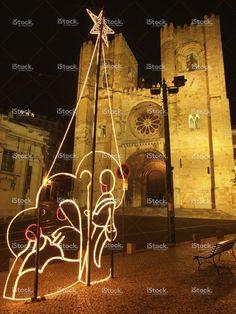 Lisbon by night at Christmas stock photo 58781908 - iStock - iStock ES