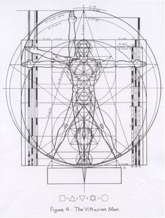 geometry matters — Mysteries of the Vitruvian Man  By examining...