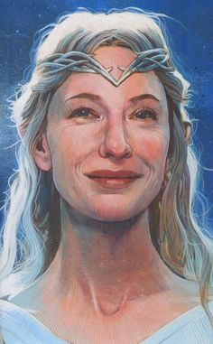 Lord of the Rings and The Hobbit - Galadriel by Mark Raats *