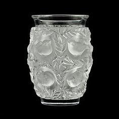 Antigue 'Lalique' glass vase