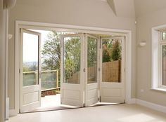 The traditional range of Bi-fold Doors from Mumford & Wood are manufactured in Essex. The timber bi-fold doors are perfect for new build or refurbishment. Wooden bi-fold doors frames are made to order and visually stunning. - May 04 2019 at Wooden Bifold Doors, Bifold French Doors, Wooden Patio Doors, Folding Patio Doors, Barn Door In House, House Doors, Kitchen Doors, Pantry Doors, Piece A Vivre